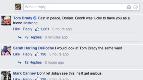 Tom Brady and Julian Edelman Offer Condolences to Young Pats