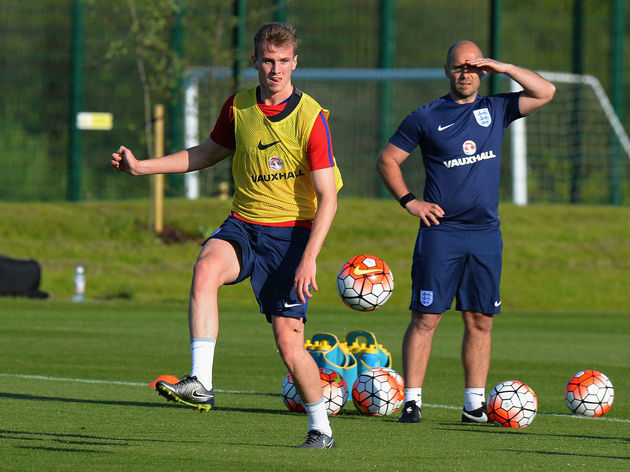 England U21 Training Session and Press Conference
