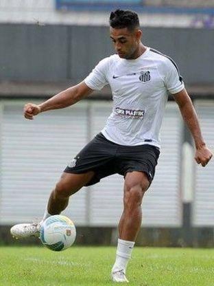 Zagueiro Werley pode permanecer no Santos em 2016 (Foto: Ricardo Saibun/Santos FC)