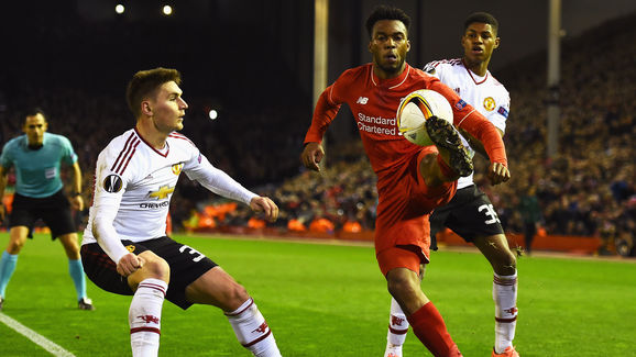 Liverpool v Manchester United - UEFA Europa League Round of 16: First Leg