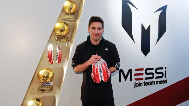 Tenis De Futbol Rapido Messi